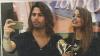 Luca Onestini e Inava Mrazova paparazzati durante lo shopping