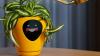 Questo vaso trasforma le tue piante in un Tamagotchi