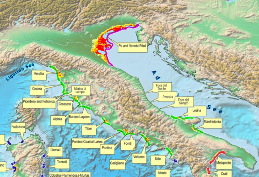 Italia Climatica Cartina.Ecco Come Potrebbe Essere L Italia Nel 2100 La Mappa Che Preoccupa Tutti Radio 105