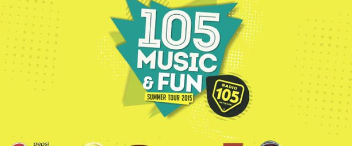 105 MUSIC & FUN Summer Tour 2015