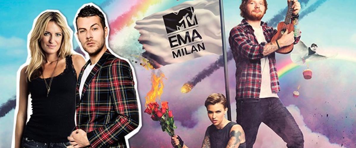 """Con Radio 105 agli """"MTV EMA 2015""""!"""