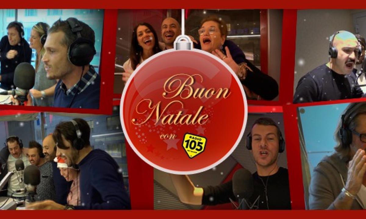 Auguri Di Natale 105.Buon Natale Con 105 Radio 105