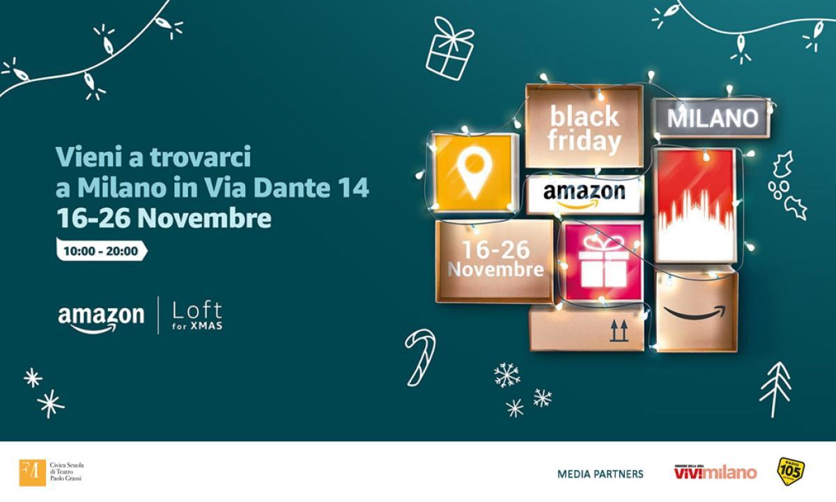 Amazon Loft For Xmas: una sorpresa nel cuore di Milano