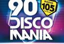 """Partecipa e vinci la nuova compilation di Radio 105 """"90 Discomania"""""""