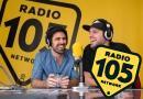 Frank Matano e Matteo Martinez a 105 Mi Casa: le foto più belle dell'intervista