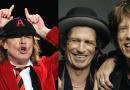 """AC/DC, Angus Young ricorda lo show con i Rolling Stones: """"Fu fantastico, Keith Richards e Mick Jagger sembravano delle caricature"""""""