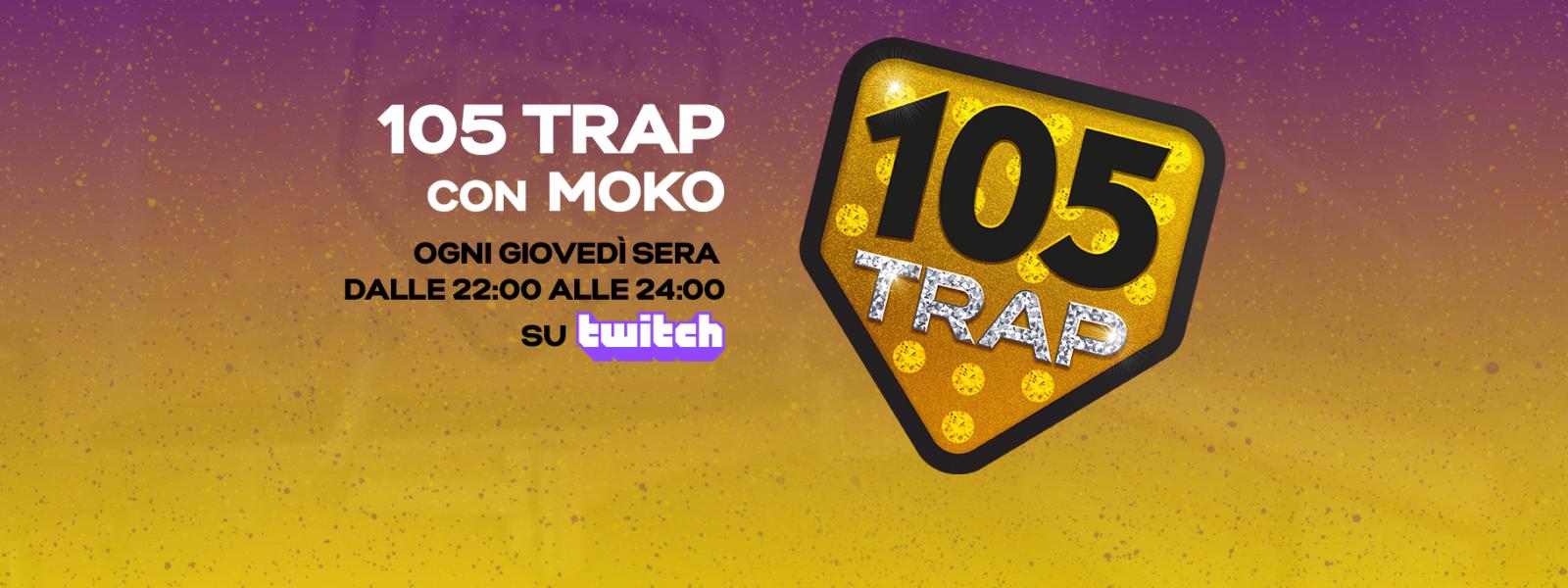 Interagisci direttamente con gli ospiti di 105 Trap su Twitch