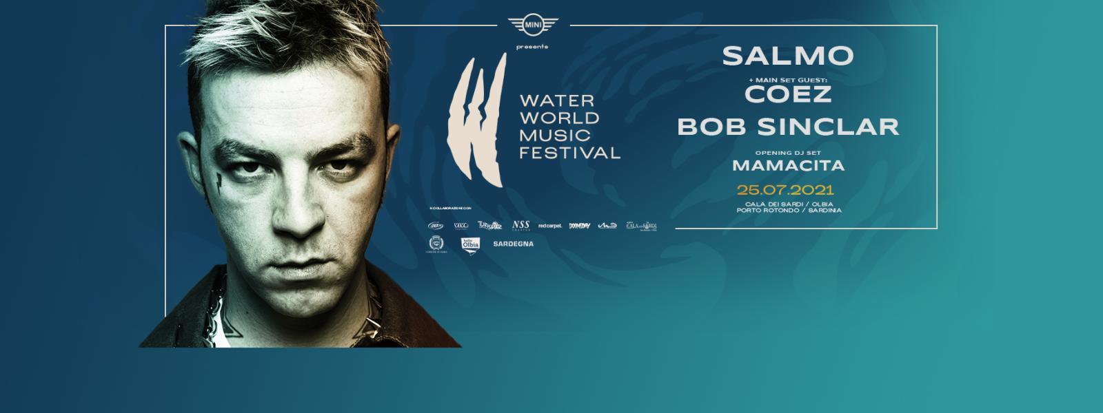WATER WORLD MUSIC FESTIVAL 2021: annunciati i primi nomi della line-up ufficiale