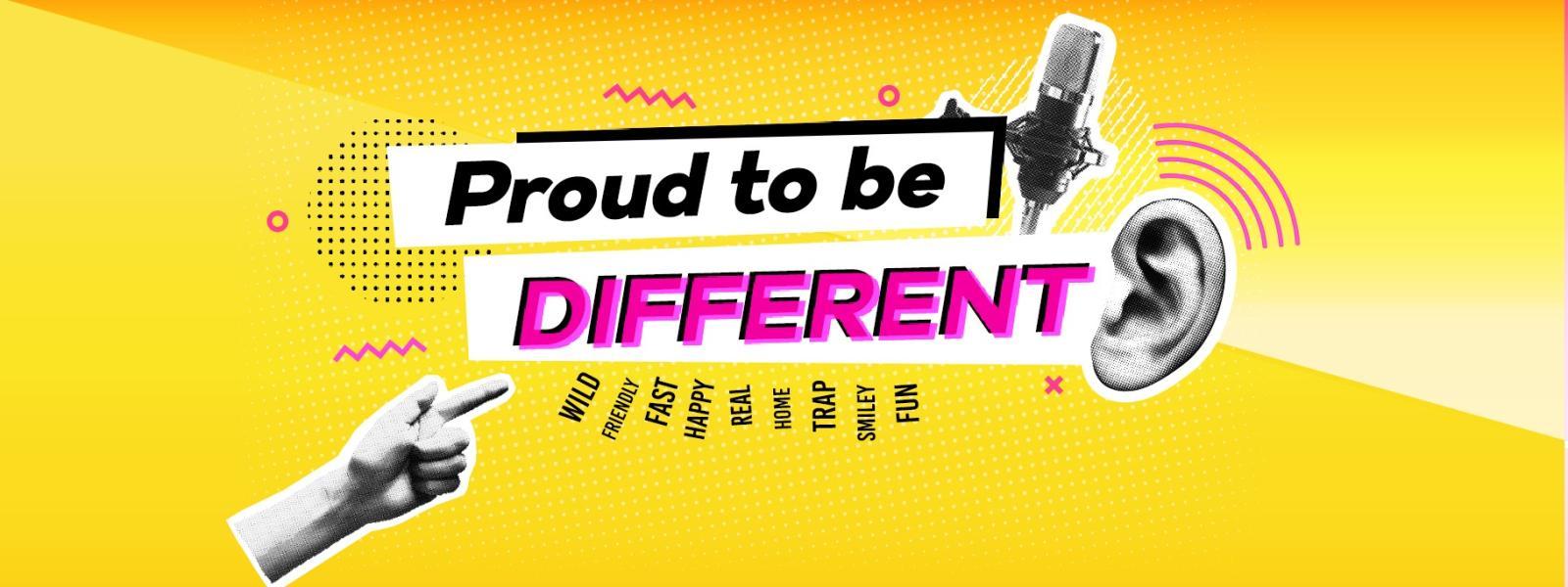 Guarda ora il nuovo spot Proud to be Different di Radio 105