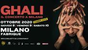 Ghali: Il concerto a Milano rinviato all'8, 9 e 10 ottobre 2020