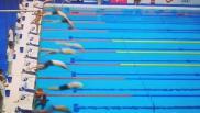 Nuoto, nessun minuto di silenzio: il nuotatore spagnolo non si tuffa