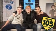 105 Extra Live!: ecco le foto dell'esclusivo Meet & Greet con Ed Sheeran