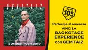 "Partecipa al concorso per vincere la ""Backstage Experience"" ai concerti di Gemitaiz!"