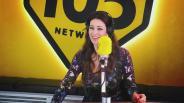 """Manuela Arcuri a 105 Take Away: """"A San Valentino sarò da sola"""""""