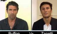 INTERVISTA DOPPIA - BUFFON VS ZANETTI
