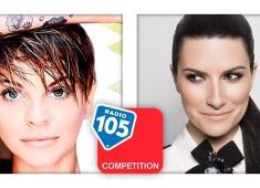 Alessandra Amoroso Vs Laura Pausini.. SU 105 COMPETITION!