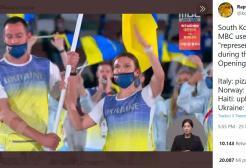 Tokyo 2020: una tv coreana usa Chenrobyl per rappresentare l'Ucraina, la pizza per l'Italia e il Salmone per la Norvegia