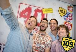 "Alessandro Matri centravanti di Radio 105 a ""Europei Everyday"" pt. 1"