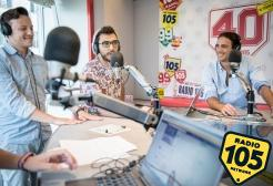 "Alessandro Matri centravanti di Radio 105 a ""Europei Everyday"""