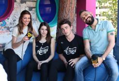 Dario e Ylenia intervistano Federica e Riccardo a poche ora dalla loro prima sfida ad #Amici16