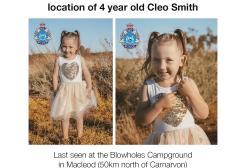 Ricompensa da 1 milione di dollari per chi aiuti a ritrovare una bimba scomparsa in Australia