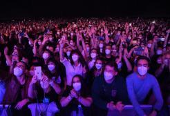 Barcellona: in 5.000 a un concerto, nessun contagiato