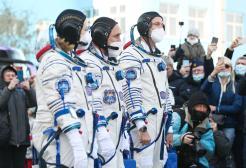 Torna sulla Terra la prima troupe che ha girato un film nello spazio