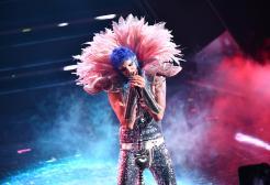 Achille Lauro e le lacrime di sangue sul palco di Sanremo