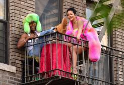 Rihanna e A$AP Rocky, dieci ore in studio insieme