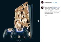 Caviar crea la Playstation placcata oro da 500 mila dollari