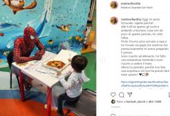 Spiderman a udienza dal pontefice: si chiama Mattia Villardita