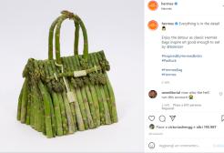 La nuova borsa di Hermès è fatta di asparagi