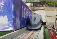 """Cina, presentato il """"treno proiettile"""" che raggiunge i 620 km/h"""