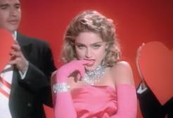 """36 anni fa usciva """"Material Girl"""" di Madonna"""