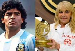 """L'ex moglie di Maradona vince Masterchef: """"Dedicato a Diego"""""""