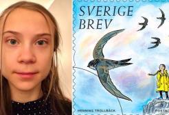 La Svezia celebra Greta Thunberg con un francobollo