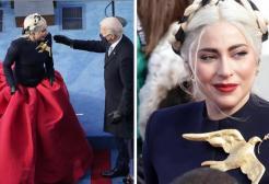 Lady Gaga: ecco cosa significa la colomba dorata indossata per l'Inauguration Day
