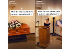 California: fa una scenata al funerale della sorella e caccia una ragazza dalla cerimonia