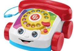 Il telefono giocattolo Fisher Price da oggi chiama davvero