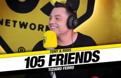 105 FRIENDS TIZIANO FERRO 25-11-2019