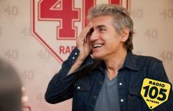 Luciano Ligabue: tanti auguri Radio 105!