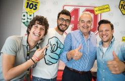 Bruno Pizzul con gli Autogol pt. 2