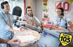 "Alessandro Matri centravanti di Radio 105 a ""Europei Everyday"""