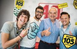 Bruno Pizzul con Gli Autogol, le foto