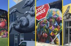 Con 105 Miami tra i magici murales di Wynwood