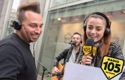 Annalisa: le foto dell'ultima performance per i fan con Alan Caligiuri e il Maestrello Lotti
