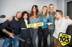 Le foto di Federica Nargi a 105 Take Away