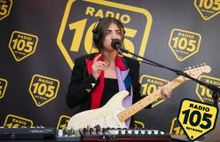 Joan Thiele: le foto del suo live a 105 Night Express