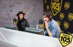 Francesco Bianconi e Rachele Bastreghi dei Baustelle a 105 Night Express: le foto