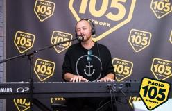 Matt Simons a 105 Night Express: guarda le foto dell'intervista e del live
